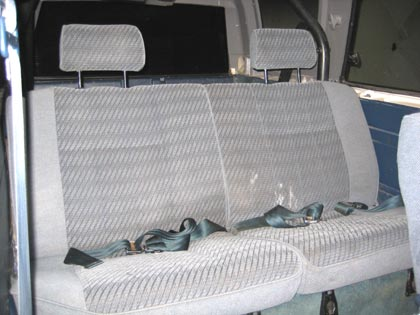 4runner Back Seat Swap