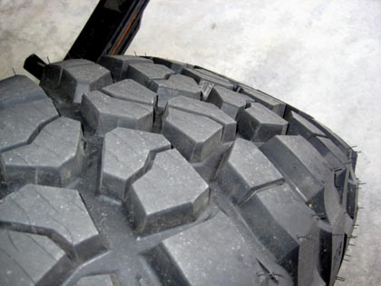 BFG KM2 Tire Siping