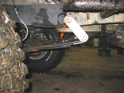 Leaf Spring Bad Shackle Angle