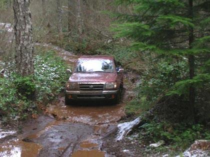 Evan's Creek Off Road 4wheeling Trip