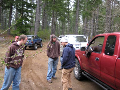 Firebreak 5 Trail Head