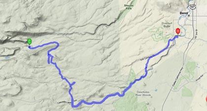 tumalo-creek-trail-map