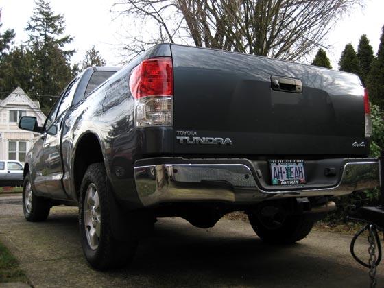 2010 Toyota Tundra Tailgate